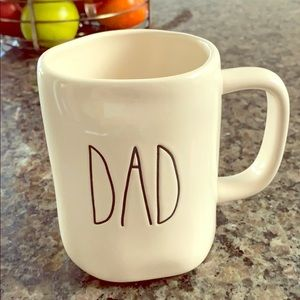 Rae Dunn DAD Coffee Mug